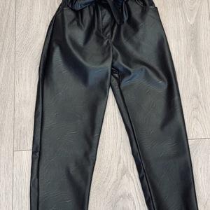 pantalon classic cuir