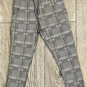 pantalon classic carreaux